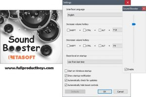 Letasoft Sound Booster 2019 Crack with Full Product Keys Free Download