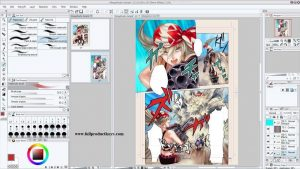 Clip Studio Paint EX 1.8.5 Crack with Keygen Free Download