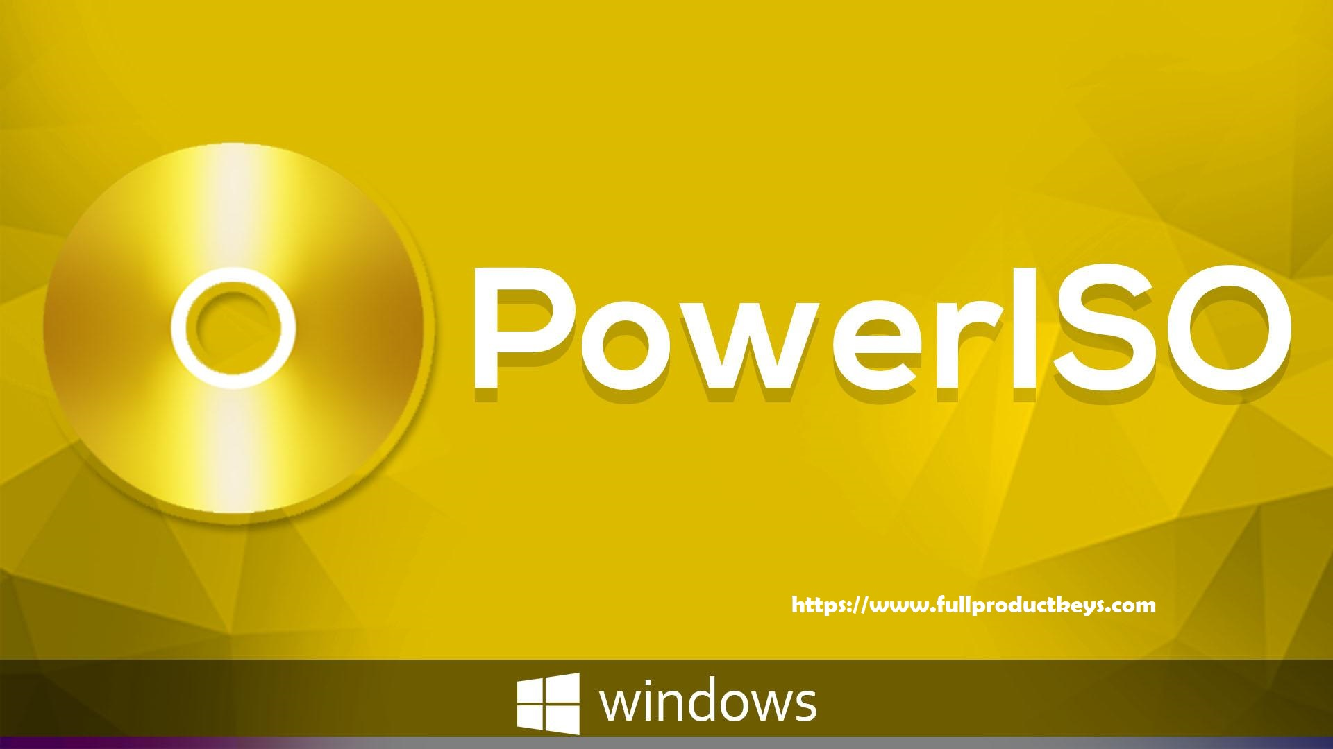 PowerISO 7.3 Crack 2019 With Full Product Key Free Download
