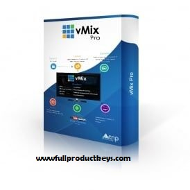 vMix 23 Crack Plus Keygen Free Download with Full Product Keys