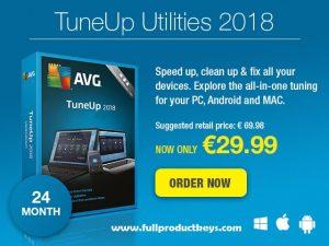AVG PC Tune-up Utilities 2019 Crack Plus Full Product Keys Free Download