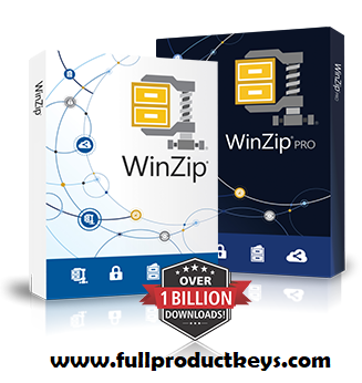 WinZip 23 Crack 2019 Plus Full Product Keys Free Download