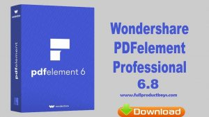 Wondershare PDFelement Pro 6.8.8.4159 Crack Plus Keygen with Full Product Keys
