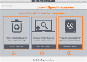iCare Data Recovery Pro 8.2.0.4 Crack Plus Keygen with Full Product Keys Free Download