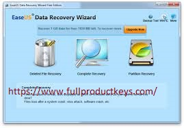 EaseUS Data Recovery Wizard Crack & License Key Updated
