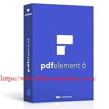 Wondershare PDFelement Pro 6.8.9 Crack & Serial Key 2019